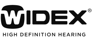 widex logo hearing aids